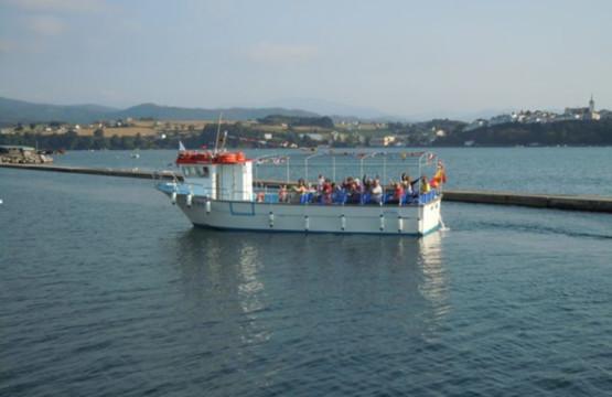 Paseo en Barco en Ribadeo